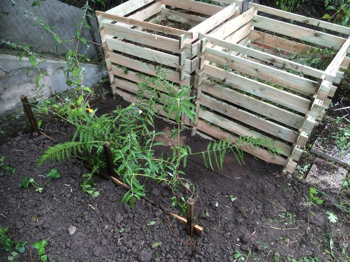 Zwei neue Komposte für den Garten der Casakorth
