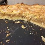 Gedeckter Apfelkuchen   Der fertige Kuchen im Anschnitt
