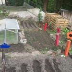 Der Garten  - Stand Mai 2015