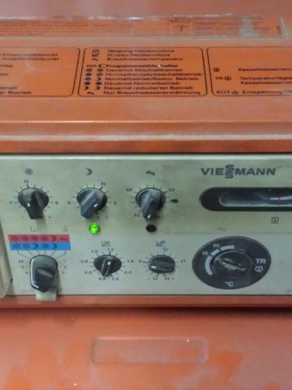 Heizungssteuerung Viessmann TriMatic